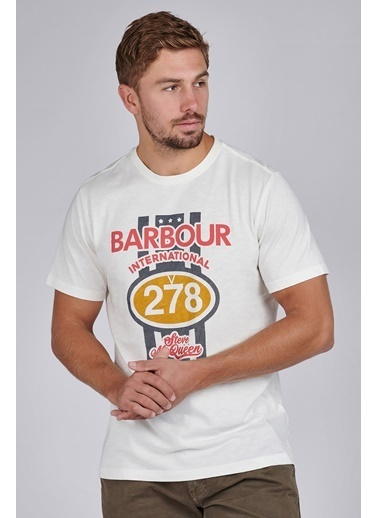 Barbour Chase T-Shirt Wh32 Whisper White Beyaz